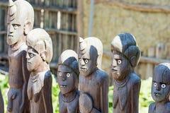 Деревянные африканские figurines Стоковое Изображение RF