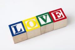 деревянные блоки алфавита Стоковые Изображения