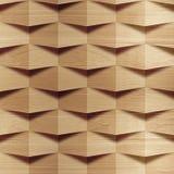 Деревянные блоки штабелированные для безшовной предпосылки Стоковые Фотографии RF