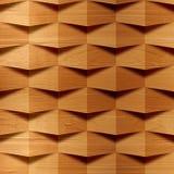 Деревянные блоки штабелированные для безшовной предпосылки Стоковое Фото