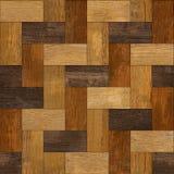 Деревянные блоки штабелированные для безшовной предпосылки Стоковая Фотография