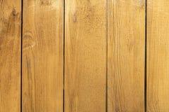 Деревянные доски желтого цвета стоковая фотография rf