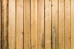 Деревянные доски на стене как предпосылка Стоковые Изображения RF
