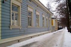 Деревянные здания Стоковые Фото