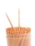 Деревянные зубочистки Стоковое Фото