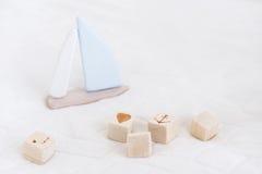 Деревянные игрушки для мальчиков Стоковая Фотография RF