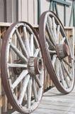 Деревянные колеса Стоковое фото RF