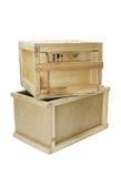 Деревянные коробки Стоковое Изображение RF
