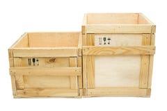 Деревянные коробки Стоковые Изображения RF