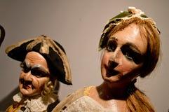 Деревянные марионетки в Бергаме Стоковые Изображения RF