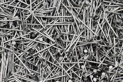 Деревянные ногти Стоковое фото RF