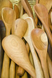 Деревянные ложки Стоковые Фото