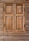 Деревянные окна Стоковые Фотографии RF