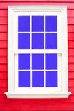 Деревянные окна Стоковое Изображение