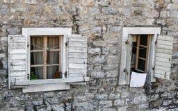 Деревянные окна Стоковая Фотография RF
