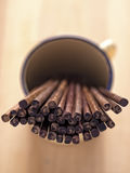Деревянные палочки Стоковое Фото
