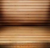 Деревянные панели используемые как предпосылка Стоковое Изображение