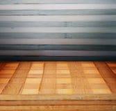Деревянные панели используемые как предпосылка Стоковое Изображение RF