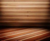 Деревянные панели используемые как предпосылка Стоковая Фотография RF