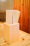 Деревянные палочки Стоковая Фотография