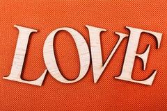 Влюбленность на померанце Стоковое Фото