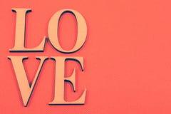 Влюбленность на померанце Стоковое фото RF