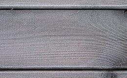 Деревянные планки с изморозью стоковое фото