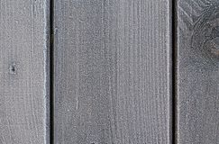 Деревянные планки с изморозью стоковые изображения rf