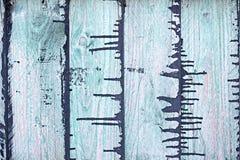 Деревянные покрашенные доски Стоковая Фотография RF