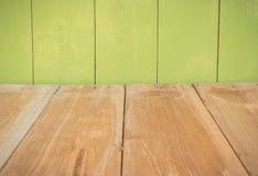 Деревянные пол и стена Стоковое Фото