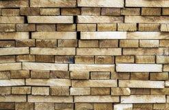 Деревянные предпосылка и текстура конструкционного материала тимберса стог Стоковые Изображения