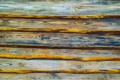 Деревянные планки Закройте вверх стены сделанной деревянных планок старая древесина pl Стоковое Изображение RF