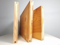 Деревянные планки на таблице Стоковое фото RF