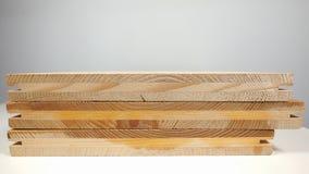 Деревянные планки на таблице Стоковое Изображение RF