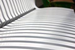 Деревянные решетины на магазине города Стоковое фото RF