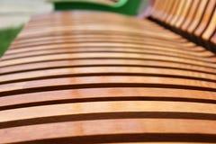 Деревянные решетины на магазине города Стоковая Фотография RF