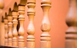 Деревянные ручки tapchan Стоковая Фотография