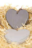 Деревянные сердца Стоковые Изображения RF