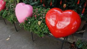 Деревянные сердца Стоковые Фото