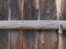 Деревянные стена и строб Стоковые Фотографии RF