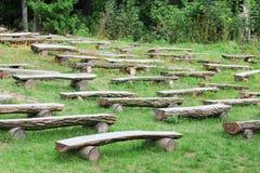 Деревянные стенды Стоковая Фотография