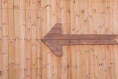Деревянные стрелки Стоковое Фото