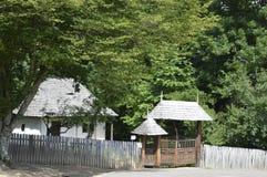 Деревянные строб и загородка Стоковая Фотография RF