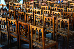 Деревянные стулы Стоковое фото RF