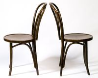 Деревянные стулы Стоковая Фотография RF