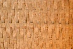 Деревянные текстура и предпосылка корзины weave Стоковое фото RF