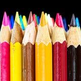 Деревянные цвета Стоковое Изображение RF