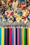 Деревянные цвета Стоковые Фотографии RF