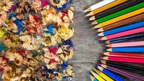 Деревянные цвета Стоковые Фото