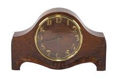 Деревянные часы Стоковое фото RF